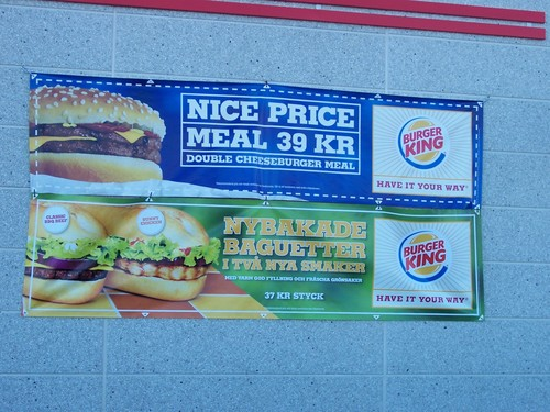 Swedish Burger King