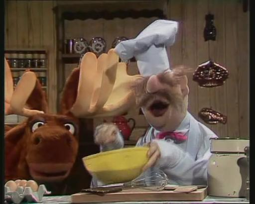 Swedish Chef and Moose