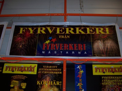 Swedish Fireworks Stand