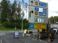 Swedish Road Sign
