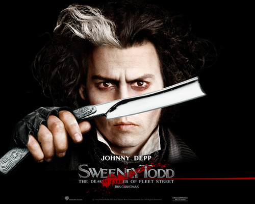 Johnny Depp wallpaper entitled Sweeney Todd