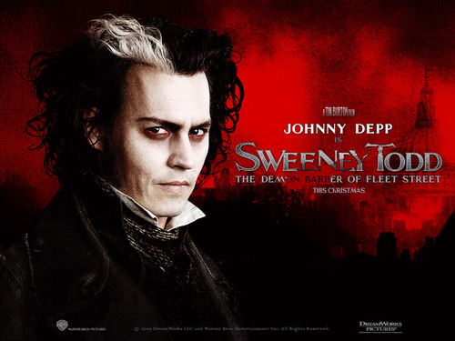 Tim burton wallpaper called Sweeney Todd