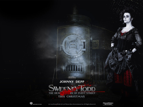 Sweeney Todd - tim-burton Wallpaper