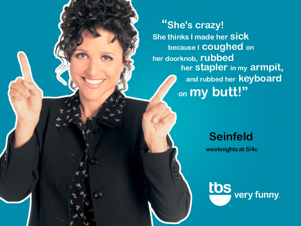 TBS - Seinfeld Wallpaper (633449) - Fanpop