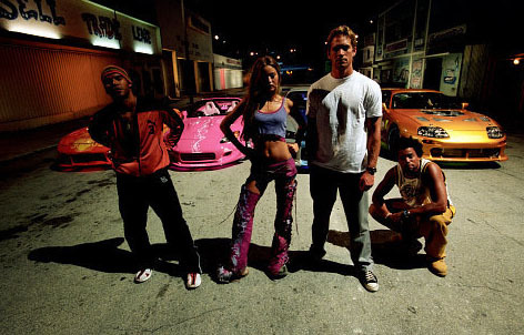 Fast and Furious wallpaper called Orange Julius, Suki, Brian & Slap Jack
