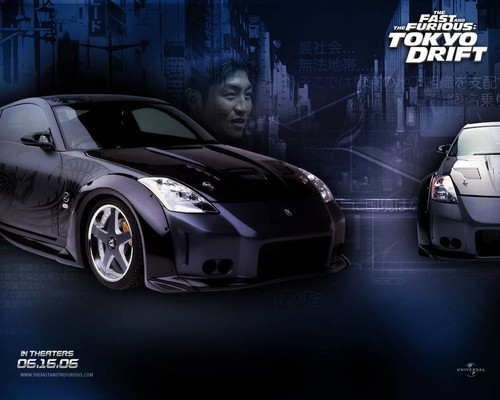 fast and furious wallpaper entitled Tokyo Drift wallpaper
