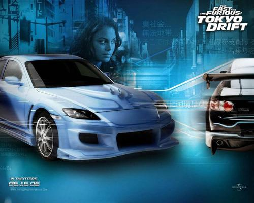 Fast and Furious wallpaper called Tokyo Drift wallpaper