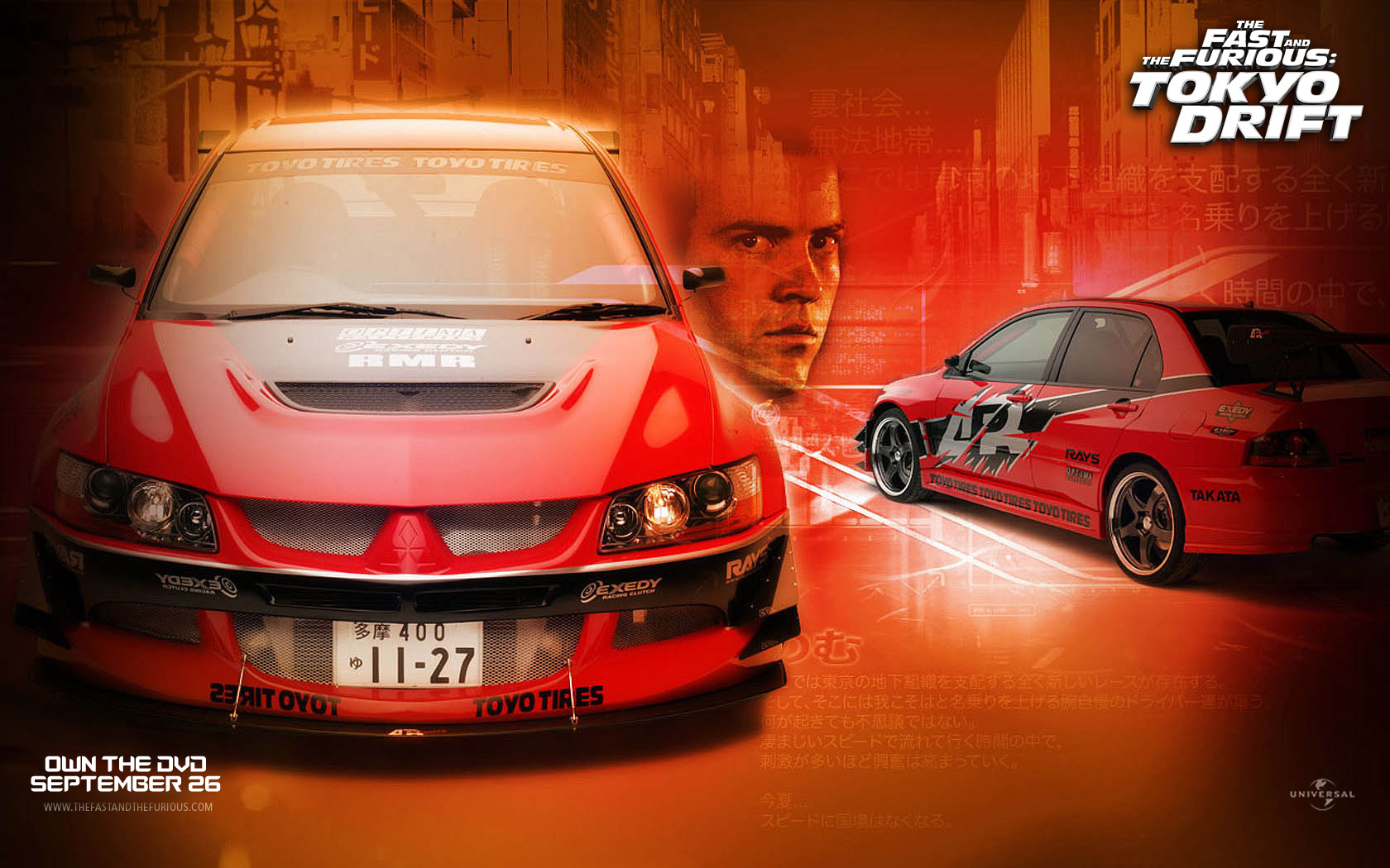 Tokyo Drift Wallpaper - Fast and Furious Wallpaper (367267 ...