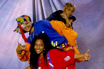 The 90s wallpaper titled TLC