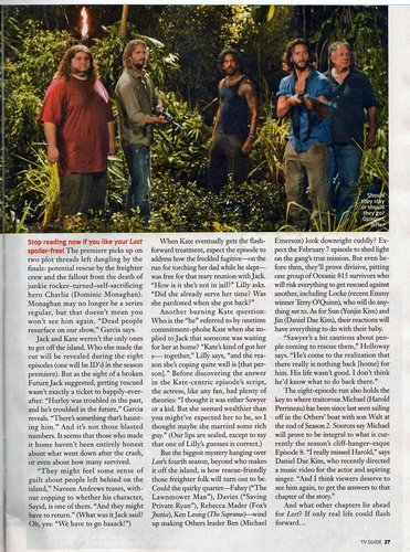 Lost wallpaper titled TV Guide Scans