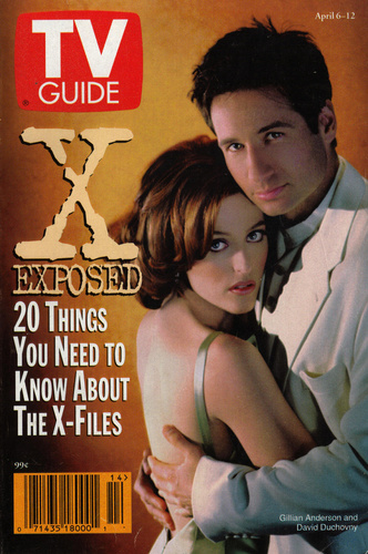 The X-Files wallpaper entitled TV Guide