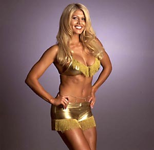 Torrie Wilson wallpaper titled TW Gold