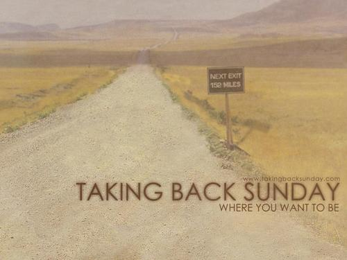 Taking Back Sunday پیپر وال