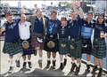 Tartan Army - kilts photo