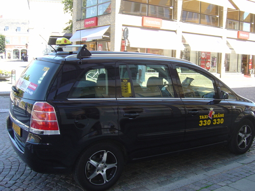 Taxi in Sweden