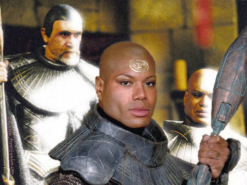 Stargate wallpaper entitled Teal'c & Bra'tac 01
