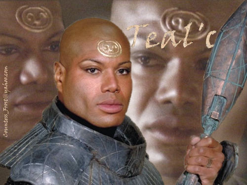 Stargate wallpaper called Teal'c 01