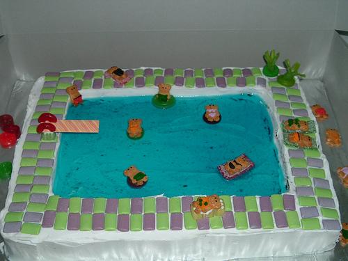 Teddy Graham Swimming Pool