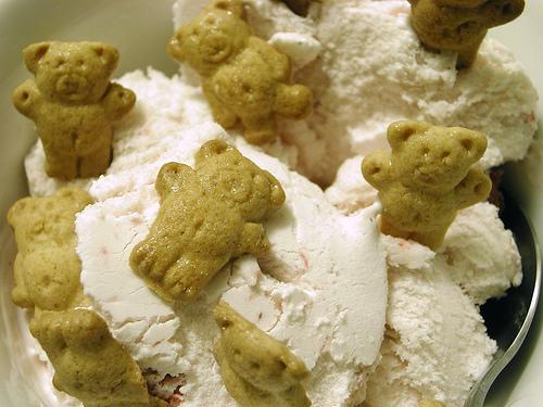 Teddy Grahams & Ice Cream