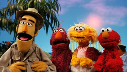 Telly, Elmo & Zoe