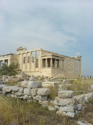 Ancient History wallpaper entitled Temple of the Kariatides