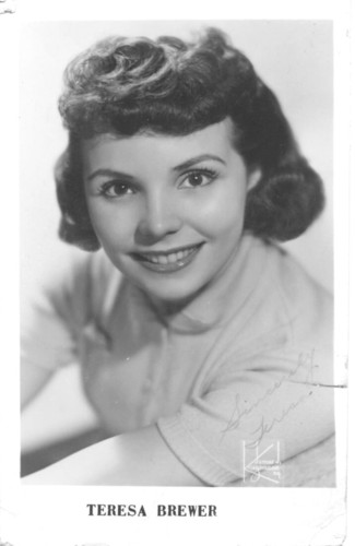 Rock'n'Roll Remembered वॉलपेपर titled Teresa Brewer