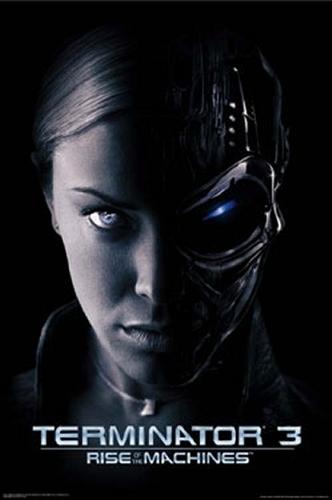Terminator achtergrond called Terminator 3