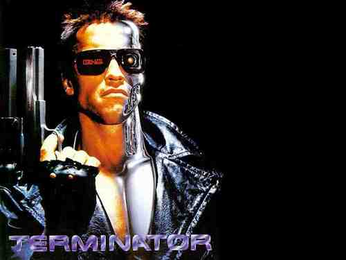 Film wallpaper called Terminator