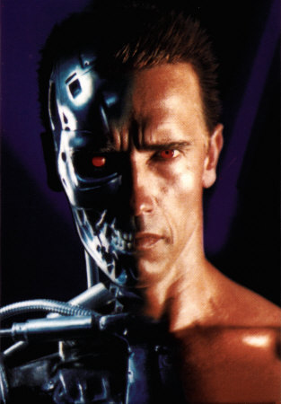 Terminator achtergrond titled Terminator
