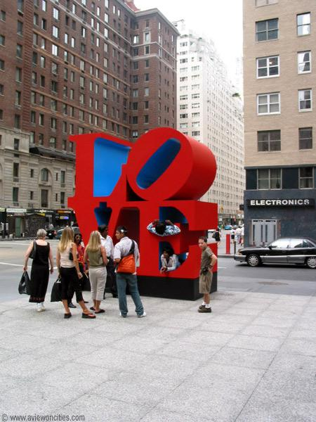 The 'Love' Sculpture