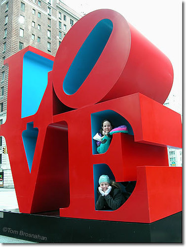 The 'Love' Sculpture