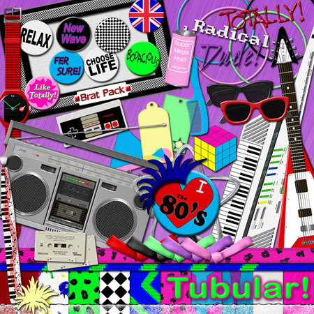 The 80s wallpaper titled The 80's