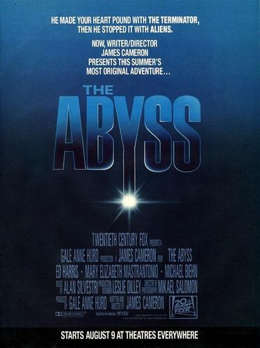80s Films 바탕화면 titled The Abyss (1989)