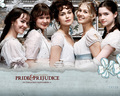 The Bennet Girls - pride-and-prejudice wallpaper