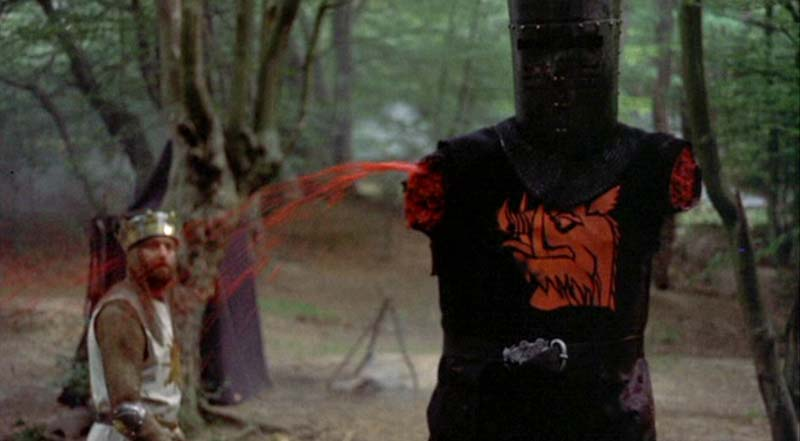 Image result for monty python and the holy grail black knight