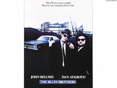 80s Films Wallpaper Titled The Blues Brothers