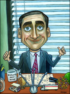 The Boss - steve-carell Fan Art