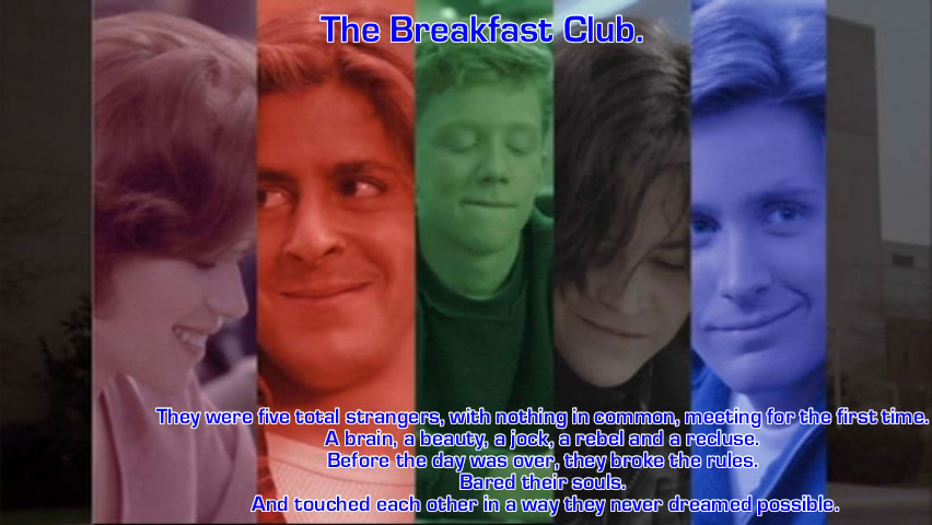 the summary and an analysis of the movie the breakfast club
