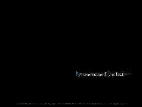 The borboleta Effect
