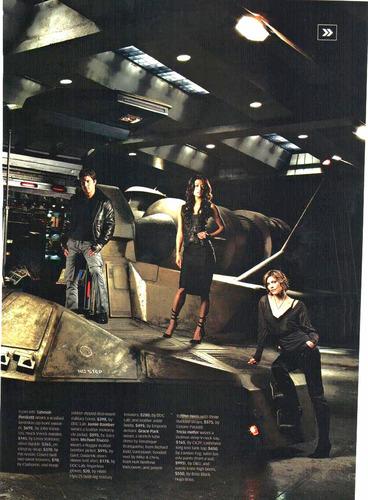 The Cast in Maxim