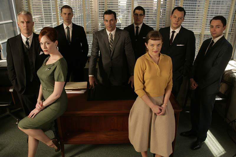 The Cast - mad-men photo