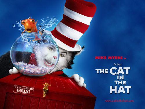 dr. seuss fondo de pantalla titled The Cat in the Hat (2003)