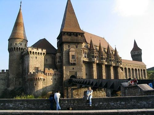 The Corvins замок