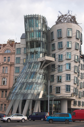The Dancing Building
