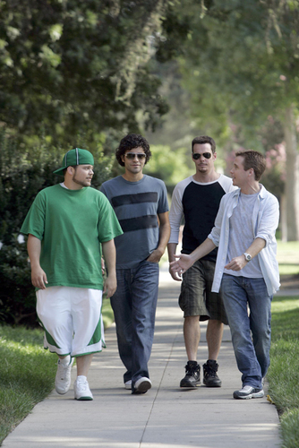 The Entourage Boys Walkin'