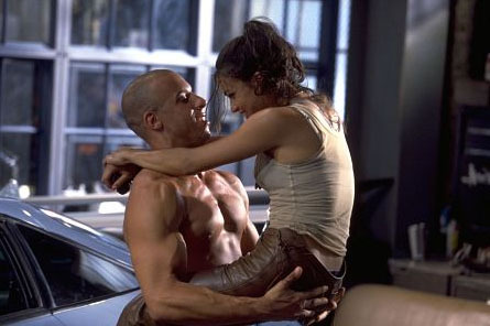 Michelle Rodriguez wallpaper entitled Letty & Dom