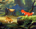 The fox, mbweha and the Hound