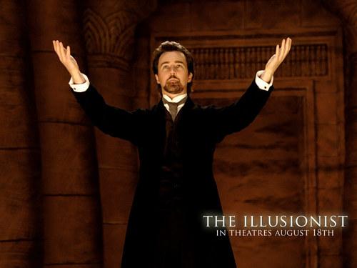 Edward Norton Обои entitled The Illusionist