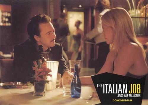 Edward Norton Обои titled The Italian Job