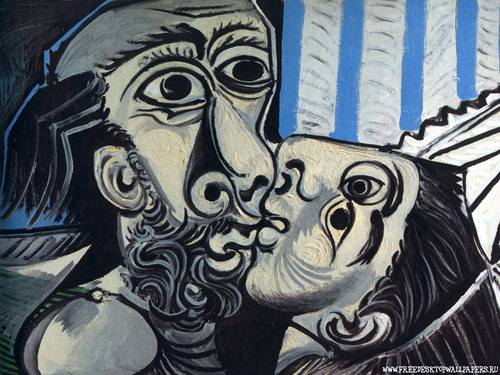 The Kiss سے طرف کی Picasso